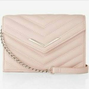 😍HP😍 NWT Express blush colored cross-body bag
